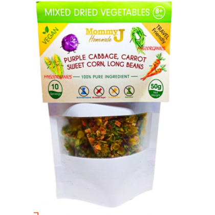 Mommy J Dried Mixed Vegetables